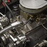 1953-Triumph-Mayflower-engine